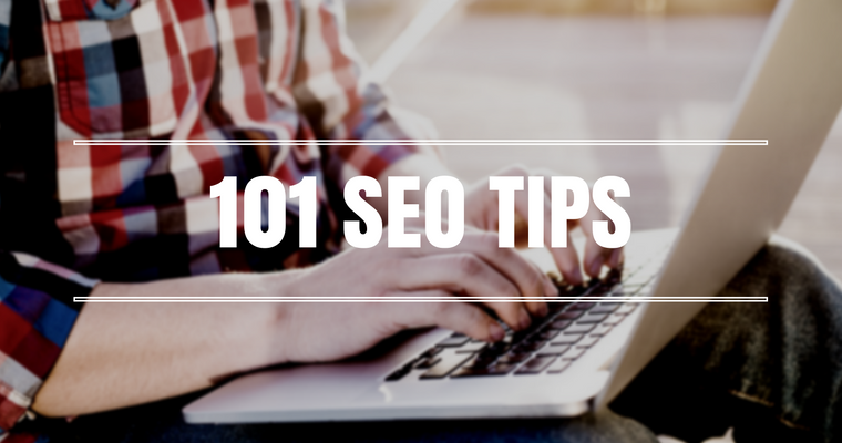 101 Quick & Actionable SEO Tips That Are HUGE