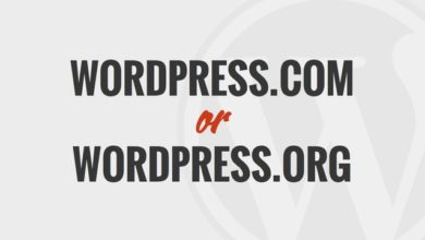 WordPress.com or WordPress.org? Which one is right for me?