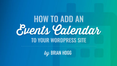 Add an Events Calendar to your WordPress Site by WP101®
