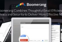 Boomerang Combines Thoughtful Email Efficiency With Privacy and Security to Deliver More Effective Messages