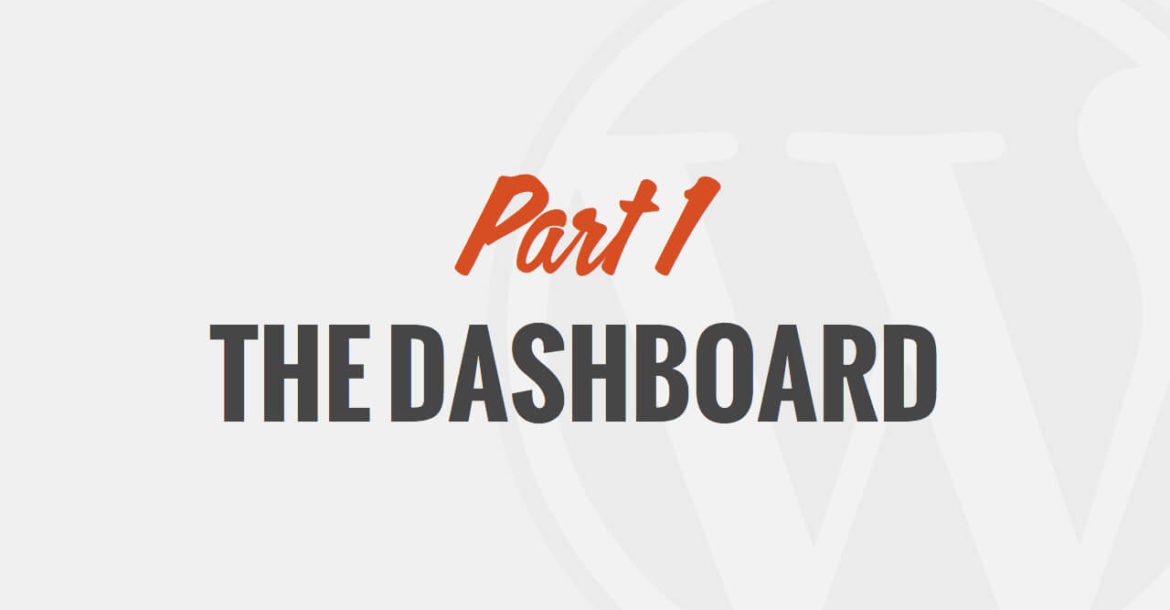 The WordPress Dashboard by WP101®