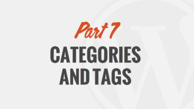 How to Use Categories and Tags in WordPress