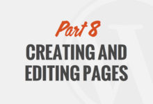 Creating and Editing Pages in WordPress