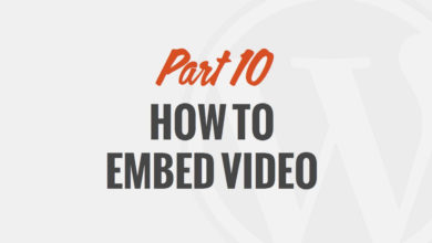 How to Embed Video and Audio in WordPress