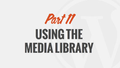 Using the Media Library in WordPress – by WP101
