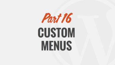 Custom Navigation Menus by WP101®
