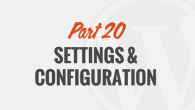 WordPress Settings by WP101®