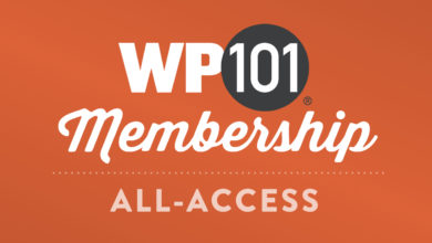 Get 200+ WordPress Tutorial Videos with an All-Access Pass to WP101