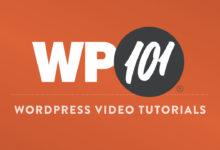 Buy WordPress 101 Tutorial Videos