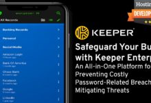Safeguard Your Business with Keeper Enterprise: An All-in-One Platform for Preventing Costly Password-Related Breaches and Mitigating Threats