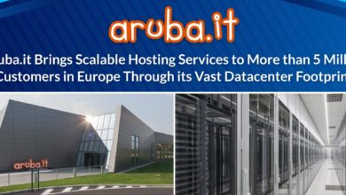 Aruba.it Brings Scalable Hosting Services to More than 5 Million Customers in Europe Through its Vast Datacenter Footprint