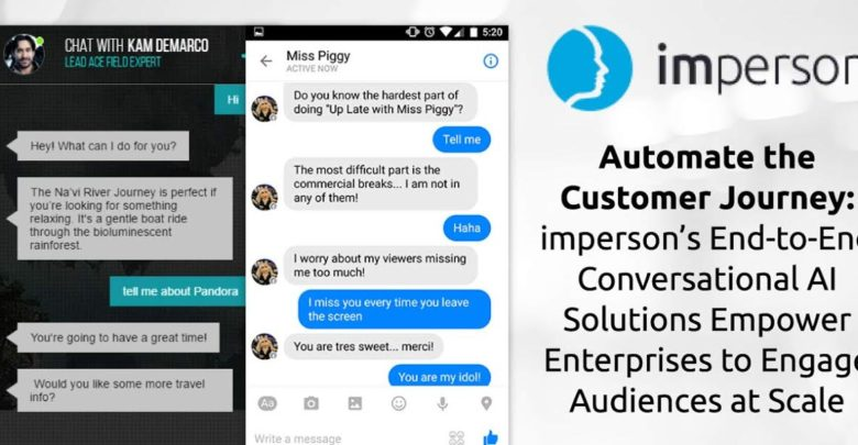 Automate the Customer Journey: imperson's End-to-End Conversational AI Solutions Empower Enterprises to Engage Audiences at Scale