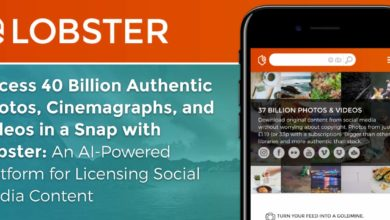 Access 40 Billion Authentic Photos, Cinemagraphs, and Videos in a Snap with Lobster: An AI-Powered Platform for Licensing Social Media Content