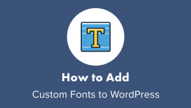 Custom Fonts to WordPress Site (Step-by-Step)