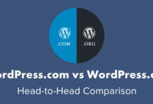 "8 Biggest ""WordPress.com vs WordPress.org"" Differences"