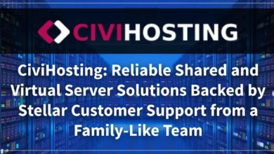 CiviHosting: Reliable Shared and Virtual Server Solutions Backed by Stellar Customer Support from a Family-Like Team