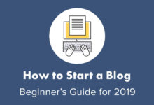 How to Start a Blog (2019)