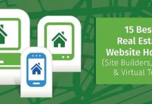 15 Best: Real Estate Website Hosting (Site Builders, Design, Virtual Tours)