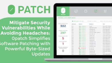 Mitigate Security Vulnerabilities While Avoiding Headaches: 0patch Simplifies Software Patching with Powerful Byte-Sized Updates