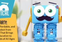 Meet Marty: A Cute, Affordable, and Flexible Robot from Robotical That Brings Coding Education to Life for Kids of All Ages