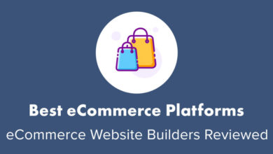 "9 Best ""Easy"" eCommerce Platforms & Sites Reviewed (2020)"