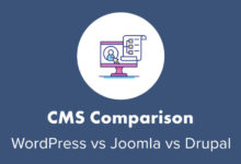 WordPress vs. Joomla vs. Drupal (2020)