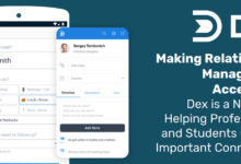 Making Relationship Management Accessible: Dex is a New CRM Helping Professionals and Students Oversee Important Connections