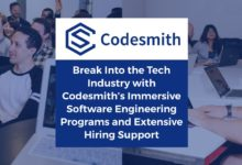 Break Into the Tech Industry with Codesmith's Immersive Software Engineering Programs and Extensive Hiring Support