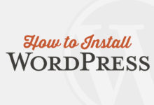 How to Install WordPress in 5 Minutes