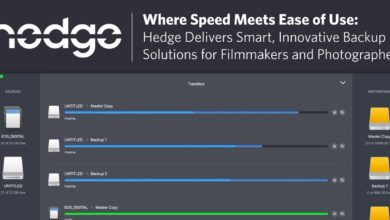 Where Speed Meets Ease of Use: Hedge Delivers Smart, Innovative Backup Solutions for Filmmakers and Photographers