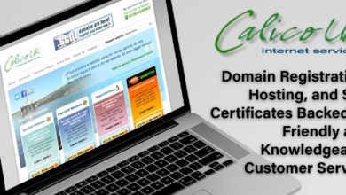 Calico UK: Domain Registration, Hosting, and SSL Certificates Backed by Friendly and Knowledgeable Customer Service